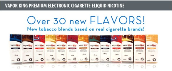 electronic cigarette liquid - Vapor King