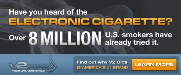 V2 Cigs Number One E-Cig Brand
